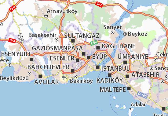 Mapa Plano Bayrampaşa