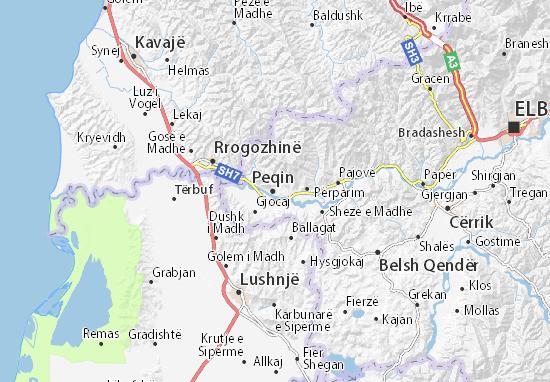 Mappe-Piantine Peqin