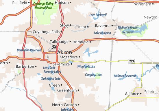 Mogadore Map