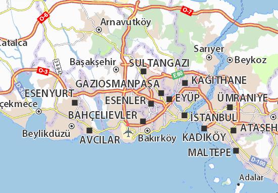 Mapas-Planos Kemalpaşa