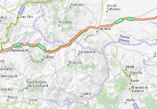 Mappe-Piantine Lacedonia