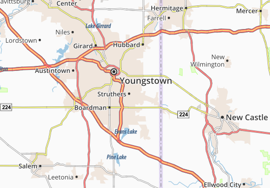 Struthers Map