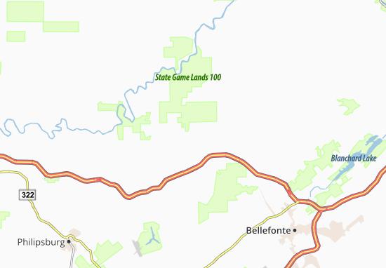 Cherry Run Map
