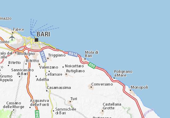 Mappe-Piantine Mola di Bari
