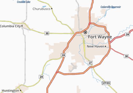 Covington Dells Map