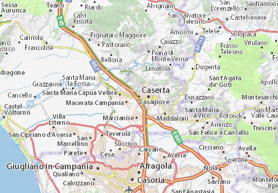Casagiove Map