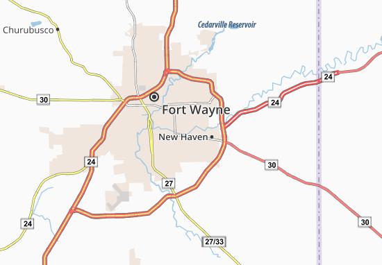 Map of River Haven - Michelin River Haven map - ViaMichelin