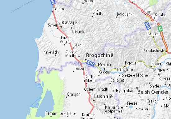 Mappe-Piantine Rrogozhinë