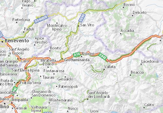 Mappe-Piantine Flumeri