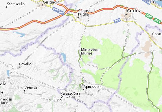 Mappe-Piantine Minervino Murge