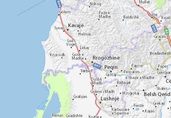 Mappe-Piantine Gosë e Madhe
