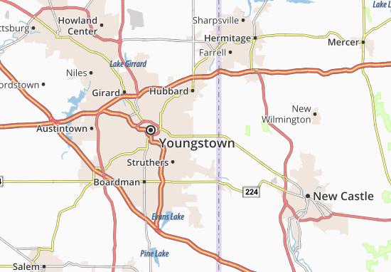 Coitsville Center Map