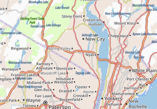 Nanuet Map
