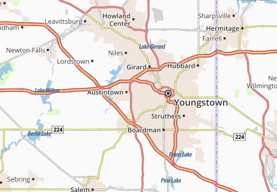Austintown Map