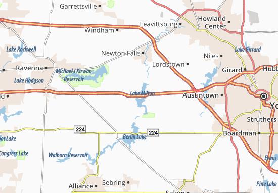 Mapas-Planos Lake Milton