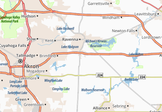 Rootstown Map