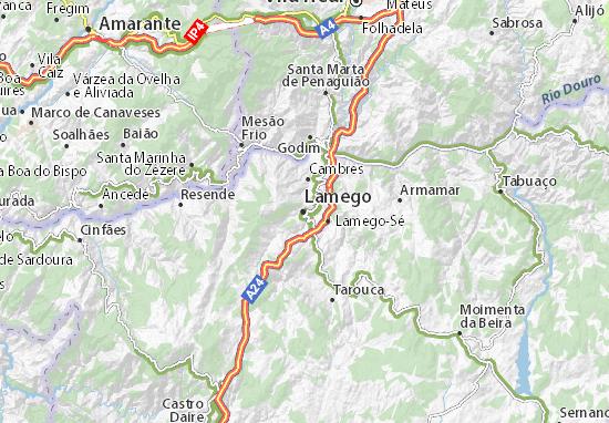 Lamego Map