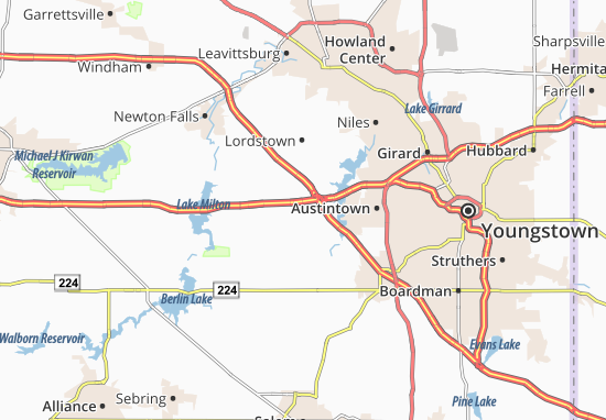 Mapas-Planos North Jackson