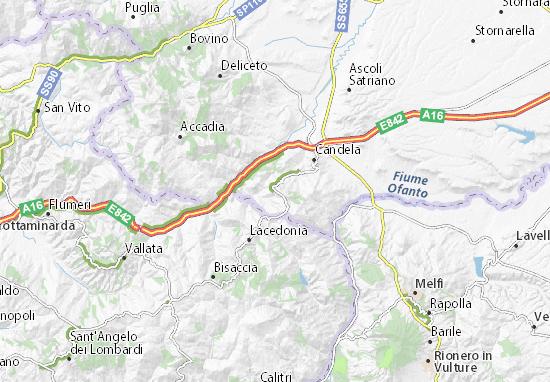 Calitri Italy Map.Rocchetta Sant Antonio Map Detailed Maps For The City Of Rocchetta