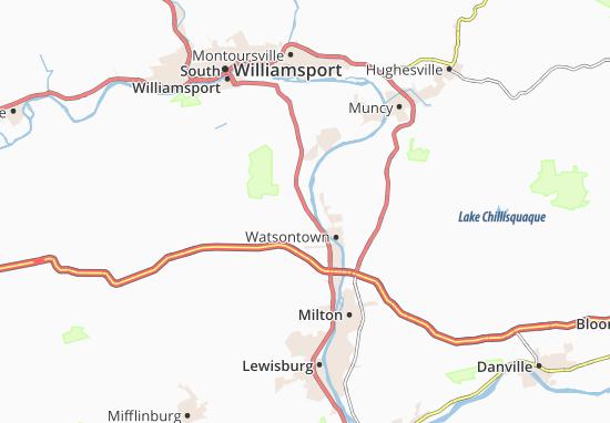 Allenwood Map