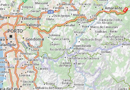 Mapas-Planos São Vicente