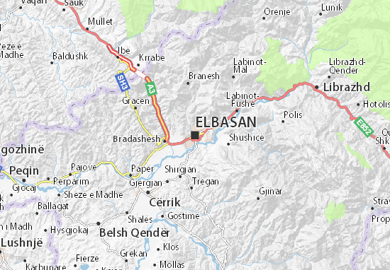 Mappe-Piantine Elbasan