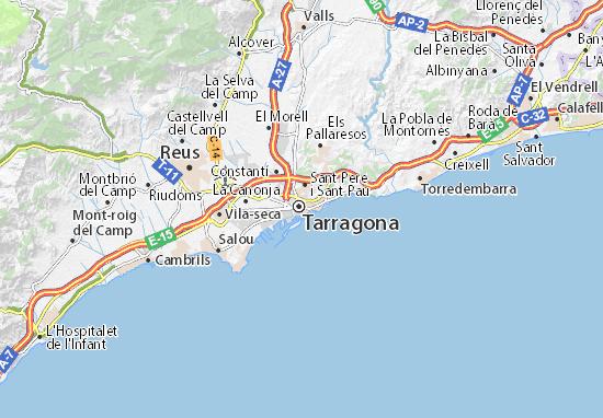 Mapas-Planos Tarragona