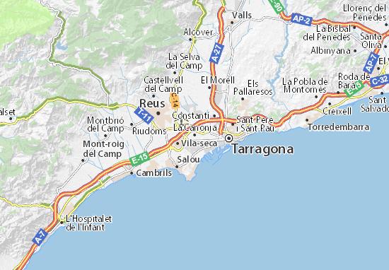 Mapas-Planos La Canonja
