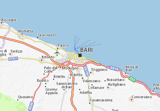 Mappe-Piantine Bari