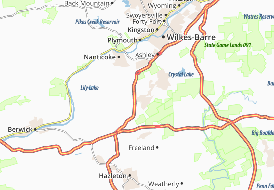 Carte-Plan Blytheburn