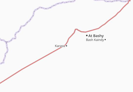 Mapa Plano Karasu