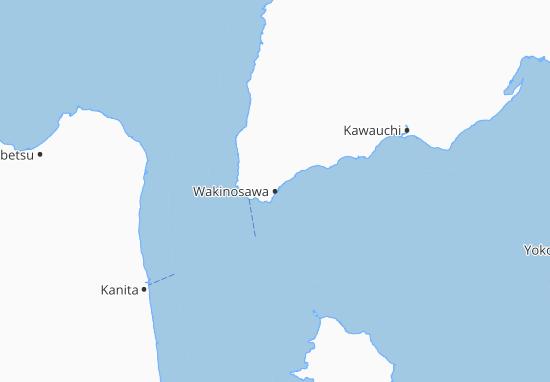 Wakinosawa Map