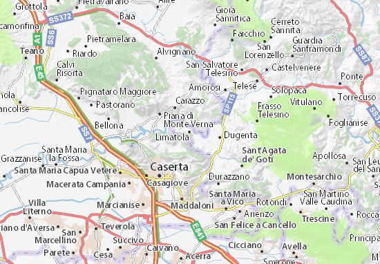 Mappe-Piantine Limatola