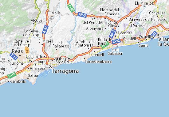 Mapas-Planos Torredembarra