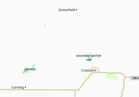 Nevinville Map