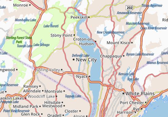 Congers Map