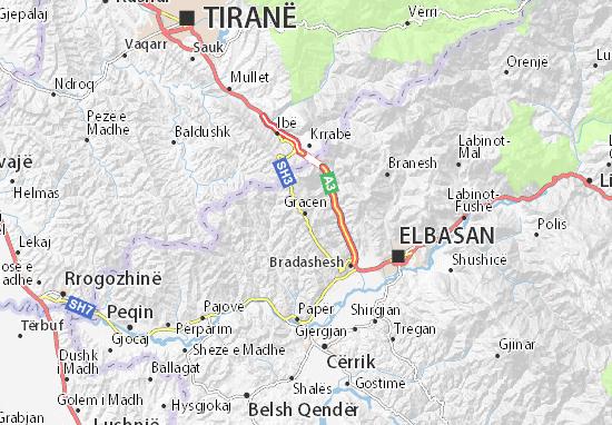 Gracen Map