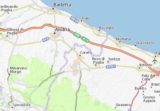 Mappe-Piantine Corato