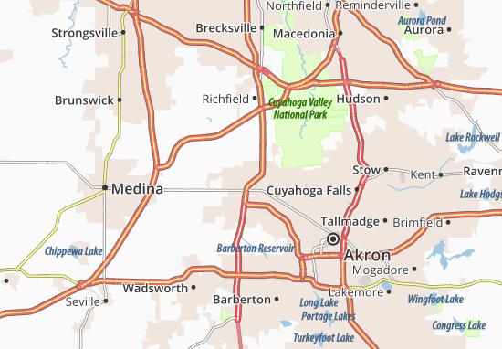 Montrose-Ghent Map