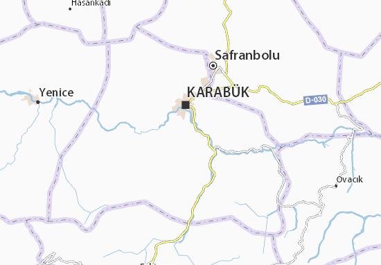Mapa Karabük