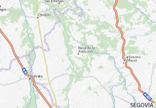 Mapas-Planos Nava de la Asunción