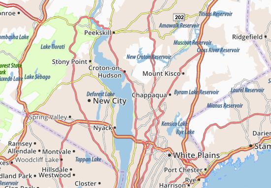 Carte-Plan Ossining