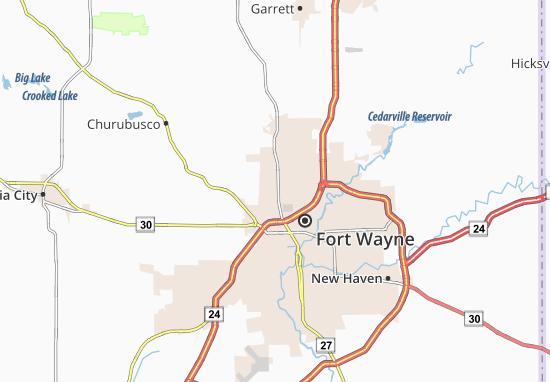 Wallen Map