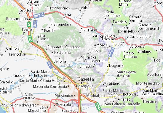 Carte-Plan Piana di Monte Verna