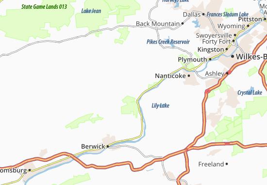 Carte-Plan Koonsville