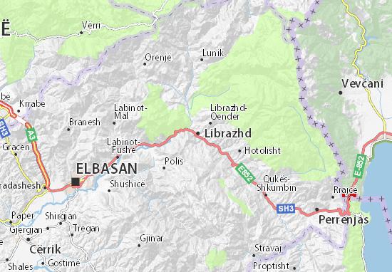 Mapas-Planos Librazhd