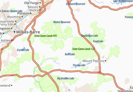 Kaart Plattegrond Thornhurst