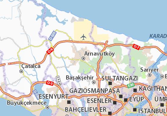 Carte-Plan Arnavutköy