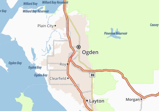 South Ogden Map