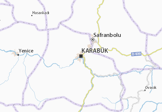 Mapa Plano Karabük
